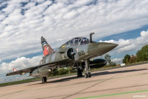 Mirage 200D n° 624, 133-IT, de l'EC 2/3 Champagne avec une décoration spéciale pour les 100 ans de la SPA 67.