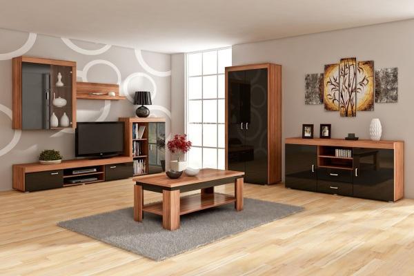 Zařízení obývacího pokoje nemusí být nudné