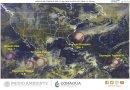 La tormenta tropical Lorena pone en alerta a los estados mexicanos de Guerrero ,Colima, Jalisco y Michoacán