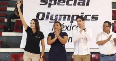 Inauguran la edición 13 de las Olimpiadas Especiales