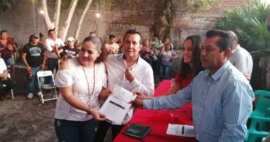 Se fortalece el PRI en Armería con el registro de las planillas para dirigir el Comité Municipal