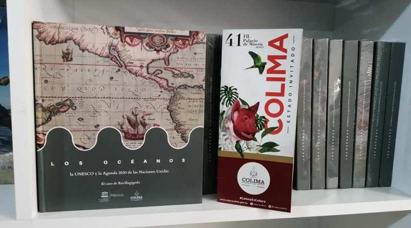 Las islas Revillagigedo y el poeta Balbino  Dávalos, se hacen presenten en la FILPM