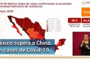 Suman 9 mil 415 fallecidos por Covid-19 en México; hay 84 mil 627 casos confirmados
