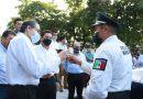 Gobernador entrega más patrullas,  ahora en la capital del Estado