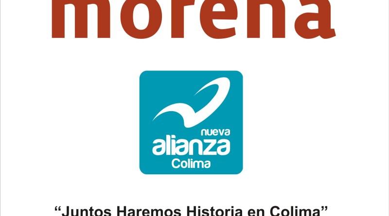 Logo MORENA-NA