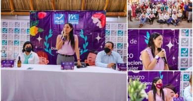 Garantizar una vida digna para las niñas y mujeres, mi objetivo: Indira Vizcaíno