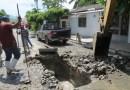 Reparan taponamiento de Alcantarilla en calle 5 de Mayo en El Ranchito Michoacán