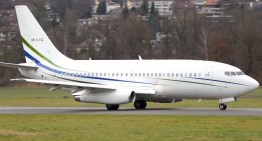 Boeing 737-200 ADV Take Off at Airport Bern-Belp – JT8D Engine Sounds