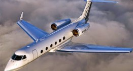 Gulfstream G450 Aerial Shots