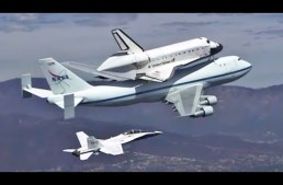NASA Shuttle ENDEAVOUR Los Angeles Final Flight