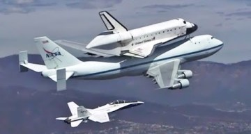 NASA Shuttle ENDEAVOUR Los Angeles Final Flight