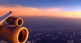 Lufthansa Boeing 747-8 – through a stunning sunset to a spectacular night landing in Mexico City