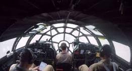 Boeing B-29 Superfortress 'Fifi' – Landing at Oshkosh, WI – Airventure 2016 – Cockpit View