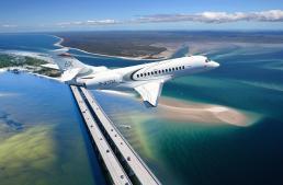 O novo Dassault Falcon 6X