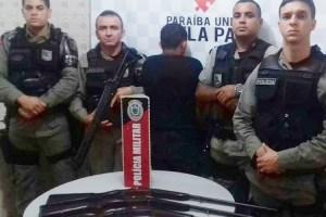 Policia apreende armas de fogo em Nova Palmeira