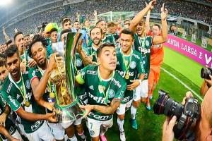 Palmeiras fecha 2016 com receitas de R$ 500 milhões e lucro de R$ 90 milhões