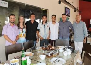 No dia do repórter, profissionais da região de Cuité comemoram a data com um almoço
