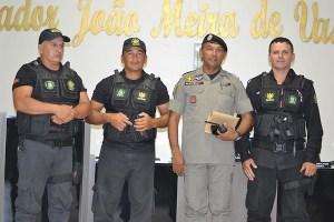 Polícia apresenta ações de um mês de trabalho em São Vicente do Seridó-PB