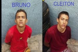 Em Frei Martinho-PB operação conjunta da PM do RN/PB prende irmãos suspeitos de vários crimes
