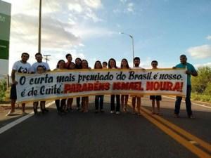 Cineasta Ismael Moura é recebido com festa em Cuité-PB