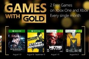 Gold & Plus | Os games gratuitos de agosto/2015! (em atualização)