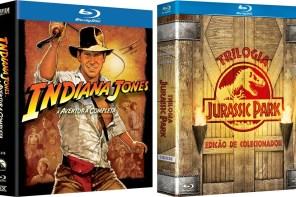 Descontos | Jurassic Park, Indiana e Box de DVDs, BDs e Livros!