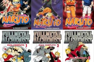 Databook-Naruto-Fullmetal-Alchemist