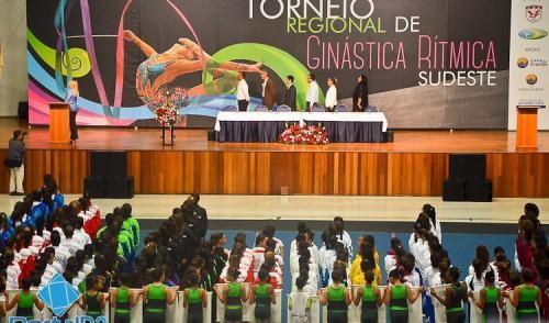 VÍDEO: Aparecida recebe Torneio Regional de Ginástica Rítmica