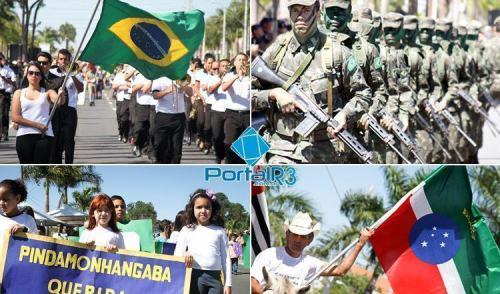 VÍDEO: resumo com o desfile de 7 de Setembro em Pindamonhangaba