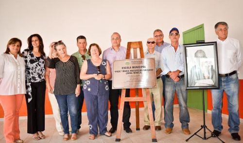 VÍDEO: Escola Maria Madureira Salgado é inaugurada em Pinda