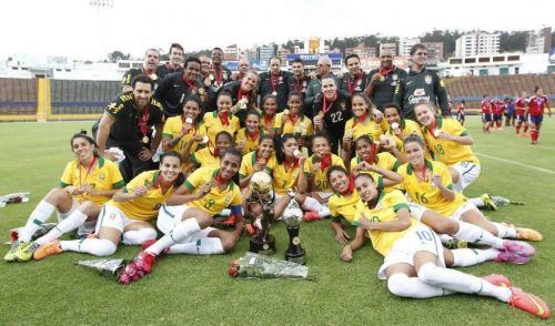 Seleção Brasileira Feminina é hexa na Copa América de Futebol
