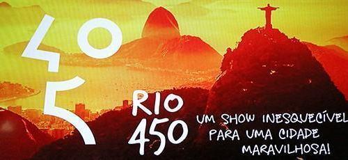 Prefeitura do Rio divulga programação de aniversário da cidade