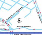 Prefeitura de Taubaté revê alterações viárias próximas a Rodoviária Nova