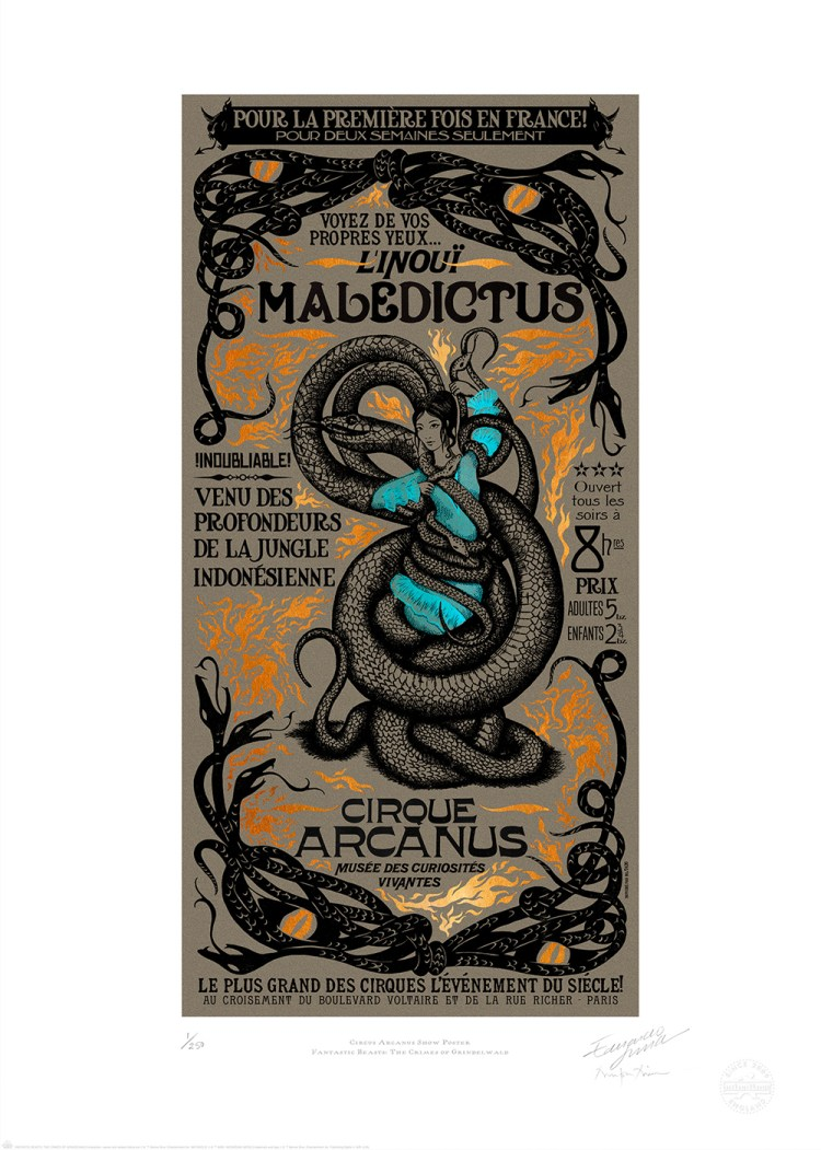CIRCUS_ARCANUS_SHOW_POSTER_MALEDICTUS_MINALIMA