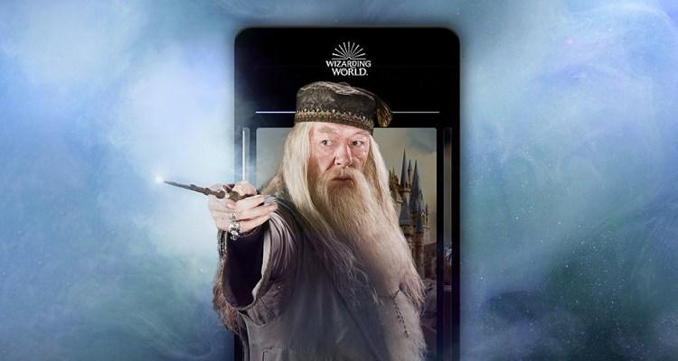 wizarding world applicazione harry potter