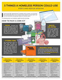 Pack a Care Kit infographic