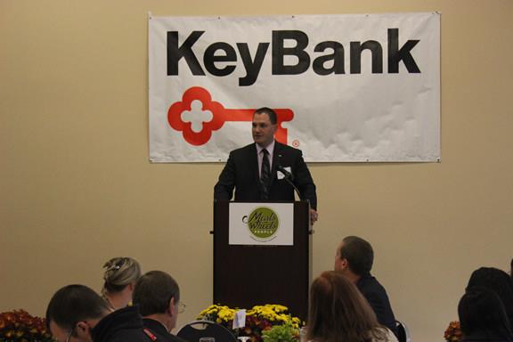 Jason McCleskey, Vice President and Washington County Retail Leader for Key Bank