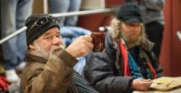 Homeless Shelters Swing Into Action During Cold Snap