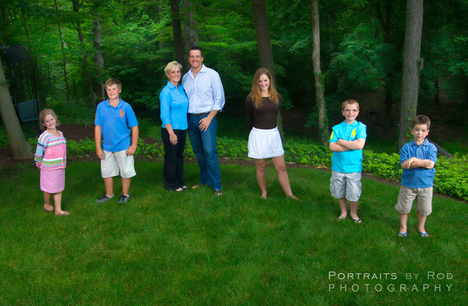 Motes Family Pictures - Beverly Hills Michigan
