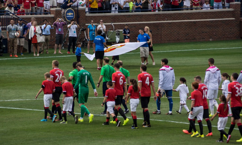 Manchester United v Real Madrid in Ann Arbor - photos