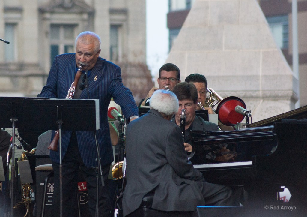 Paquito D'Rivera and Barry Harris