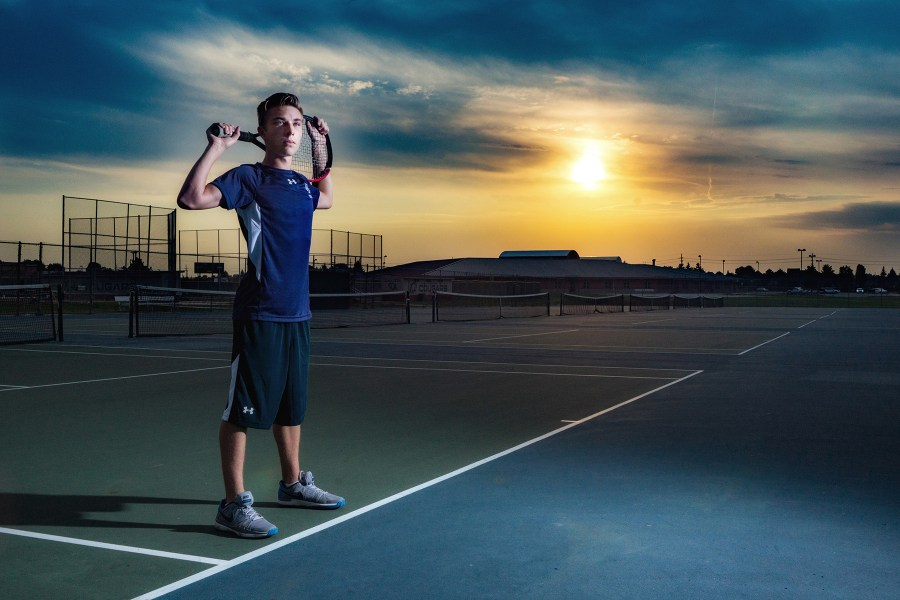 Macomb Dakota High School Senior Portraits Tennis