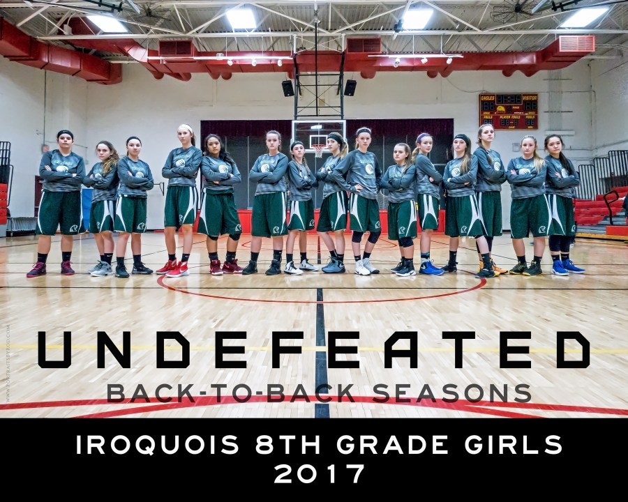 Iroquois 8th Grade Girls 2017 _ Undefeated-lw