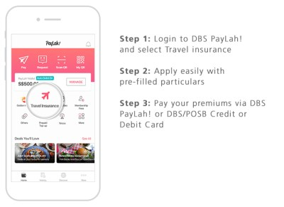 Get your travel insurance on the go with the PayLah! app | POSB Singapore