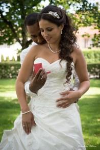 Photo traditionnelle des mariés