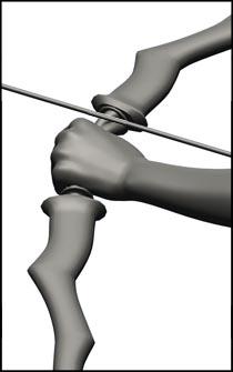Female Archer Figure Reference Pose - Set 01