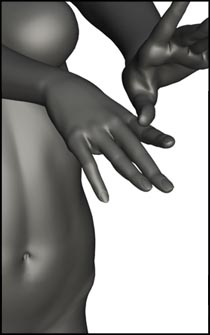 Female Magic Figure Reference Pose - Set 06