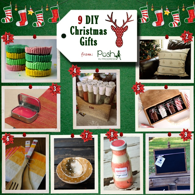 9 DIY Christmas Gifts