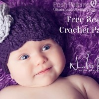 Free Petal Edge Hat Crochet Pattern