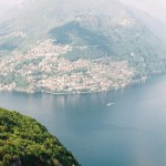 View from Monte San Salvatore (912m) over Lugano